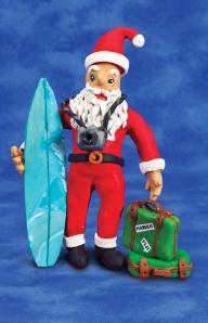 go on vacation santa