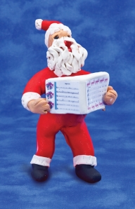 sing holiday songs santa