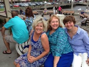 Susan, Suzan and Liz in Amelia Island