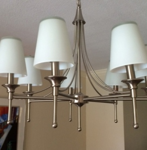 New Beige Chandelier