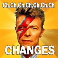 Ch, ch ch Changes
